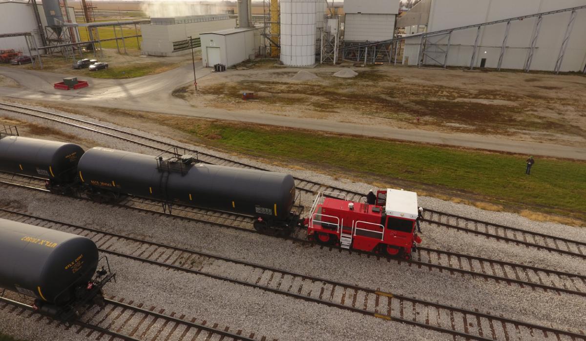 ¿Cuál es la capacidad de los remolcadores ferroviarios?